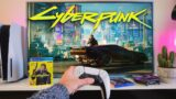 Testing Cyberpunk 2077 On The PS5 -POV Gameplay Test, Unboxing, Story Mode  Part 1 