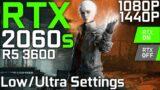 The Medium | RTX 2060 Super + Ryzen 5 3600 | Low vs. Ultra Settings (RTX ON/OFF) | 1080p 1440p