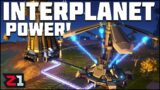 Transferring POWER Between PLANETS! Dyson Sphere Program Ep.11 | Z1 Gaming