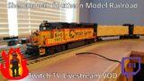 Twitch Model Railroad Livestream VOD  2 – New Pulpwood Industry and Off-Spot Location