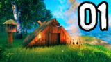 VALHEIM Part 1 – (Solo Gameplay Walkthrough) – A new journey awaits…