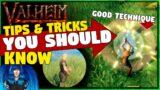 VALHEIM TIPS & TRICKS YOU SHOULD KNOW