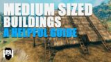 Valheim – HOW TO BUILD MEDIUM SIZED BUILDINGS – A HELPFUL GUIDE – NEW PLAYER TUTORIAL