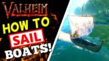 Valheim – How To Sail Boats in The Ocean!