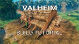 Valheim How to build a Epic Viking Longhouse Easy
