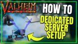 Valheim LOCAL Server | How to setup Dedicated Server  @Vedui42