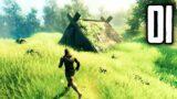 Valheim – Part 1 – The Beginning (Viking Survival Game)