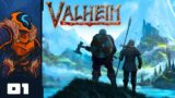 Viking Hut Building Simulator 2021 – Let's Play Valheim [Early Access] – Part 1