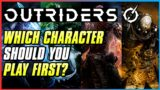 WHICH OUTRIDER SHOULD YOU PICK FIRST?! | Outriders All 4 Classes Overview | Beginner Tips
