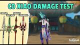 XIAO – C0 Showcase & Weapon Comparison   Genshin Impact