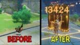 Zhongli Post Buff Comparison ~ Genshin Impact 1.3 Update