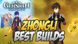 Zhongli's Best Builds AFTER BUFFS! All Builds & Weapons Info! Genshin Impact