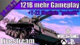 121B + T-22 Medium Gameplay | WoT Console Xbox Series X [Deutsch] 30.03.21