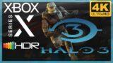 [4K/HDR] Halo 3 (Xbox 360) / Xbox Series X Gameplay
