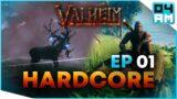 A New Adventure – VALHEIM HARDCORE Survival Episode 1 S1