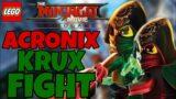 Acronix & Krux Boss Fight!    LEGO Ninjago Videogame
