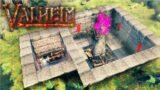 Automatic WOOD & STONE FARM! Valheim Episode 17
