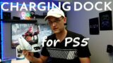 BEJOY DUAL CHARGING DOCK FOR PS5 CONTROLLER