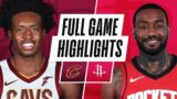 CAVALIERS at ROCKETS | FULL GAME HIGHLIGHTS | March 1, 2021