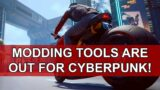 CDPR released modding tools for Cyberpunk 2077!