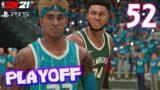 CLAMOROSO INIZIO SERIE Vs GIANNIS! NBA 2K21 PS5 CARRIERA Gameplay ITA Ep.52 Playoff