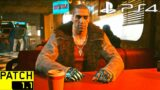 CYBERPUNK 2077 HOTFIX 1.11 PS4 Slim Gameplay & Graphics (Free Roam)   CYBERPUNK 2077 PATCH 1.11 PS4