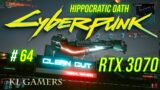 CYBERPUNK 2077 Hippocratic Oath RTX 3070 RAY TRACING ULTRA 4K Gameplay part 64