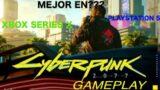 CYBERPUNK 2077 PLAYSTATION 5 o XBOX SERIES X dilema!!! GAMEPLAY