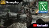 Call of Duty Cold War Zombies Xbox Series X Gameplay 4K