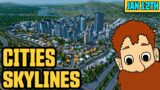 Cities Skylines Xbox Series X // Full Twitch Replay 12/01/21