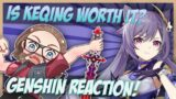 Collected Miscellany Keqing Starward Sword Character Showcase   Genshin Impact Trailer Reaction