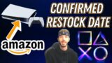 Confirmed Amazon PS5 Restock Date and Time THIS WEEK (March 2021)