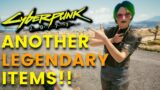 Cyberpunk 2077 –  Another 5 Legendary Items!! | Legendary Clothes (Locations & Guide)