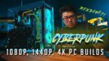 Cyberpunk 2077 PC Build Guide (Patch 1.1 Best Settings – 1080p, 1440p, 4K)