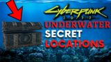 Cyberpunk 2077 – Underwater SECRET LOCATIONS! (Drowned Loot)