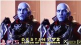 Destiny 2 – Beyond Light – Season of the Chosen Graphics Comparison PS5 VS Xbox series X
