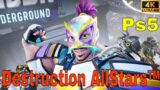 Destruction AllStars – 12 Minutes of PS5 Gameplay (4k 60fps)