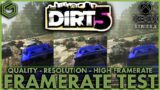 Dirt 5 Lands on Game Pass – Xbox Series X – 4K 60 FPS & 1440p 120 FPS Gameplay with Framerate