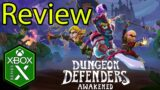 Dungeon Defenders Awakened Xbox Series X Gameplay Review