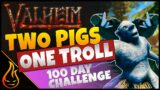 Epic Battles And Factory Farming Valheim 100 Day Challenge Lets Play S2 Ep3