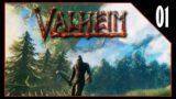 Exploring Purgatory And Dieing Like A True Viking! | Valheim  EP 01 |