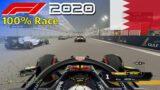 F1 2020 – 100% Race Bahrain in Verstappen's Red Bull | PS5