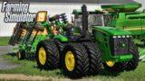 Farm Sim News! John Deere 9X30 In Game, Ford F350, + Calmsden Farm! | Farming Simulator 19