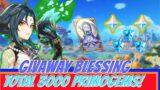 GIVEAWAY BLESSING CARD TOTAL 3K PRIMOGEMS! GENSHIN IMPACT