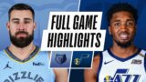 GRIZZLIES at JAZZ | FULL GAME HIGHLIGHTS | March 27, 2021