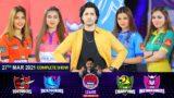 Game Show Aisay Chalay Ga League Season 5   Danish Taimoor   27th March 2021   Complete Show