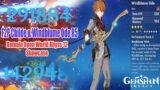 Genshin Impact – Childe F2P & Windblume Ode R5 Damage Showcase – Abyss 12 – Domain World