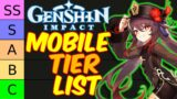 Genshin Impact MOBILE Tier List for patch 1.3 and 1.4 (IOS / Android / Tablet / Beginner Friendly)