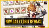 Genshin Impact – TONS OF FREE REWARD! Hoyolab Daily Login Web Event