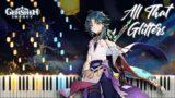 "Genshin Impact ""All That Glitters"" Soundtrack (ALL PARTS) Piano Arrangement"